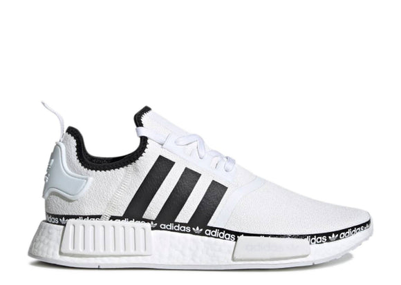 ADIDAS NMD R1 'LOGO STRIP - CLOUD WHITE'