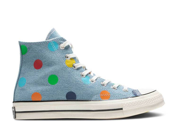 CONVERSE TYLER THE CREATOR X CHUCK 70 HIGH 'POLKA DOTS'