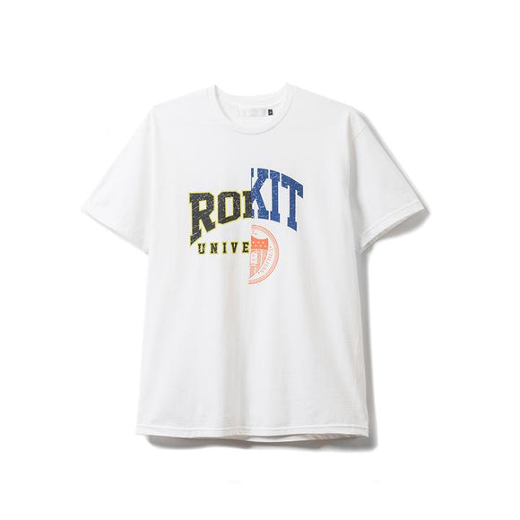 ROKIT DROP OUT TEE WHITE