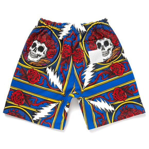 CHINATOWN MARKET BORDER BANDANA SHORTS - deviceone