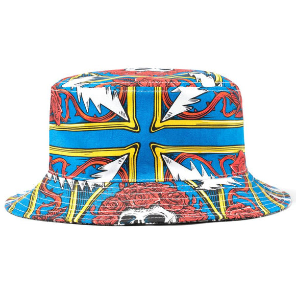 CHINATOWN MARKET BORDER BANDANA BUCKET HAT - deviceone