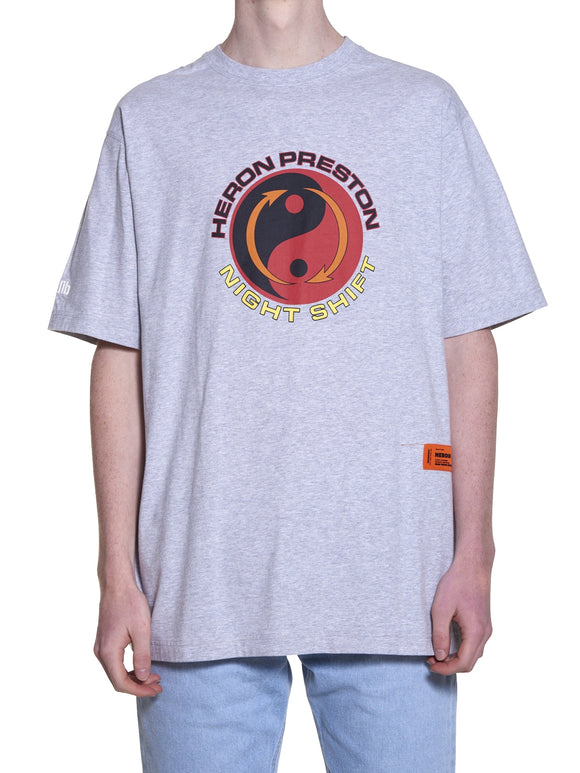 HERON  PRESTON OVER TAO T-SHIRT GREY