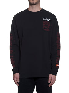 HERON PRESTON LONG SLEEVE OVER NASA FACTS TEE - deviceone