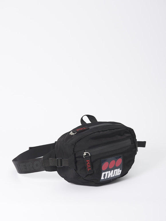 HERON PRESTON CTNMB FANNY PACK BLACK - deviceone