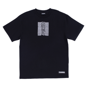PLEASURES X JOY DIVISION SHADOW PLAY TEE BLACK