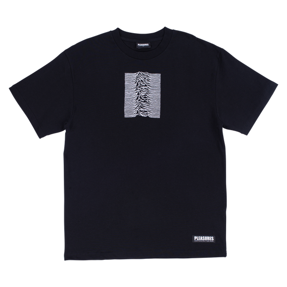 PLEASURES X JOY DIVISION SHADOW PLAY TEE BLACK - deviceone