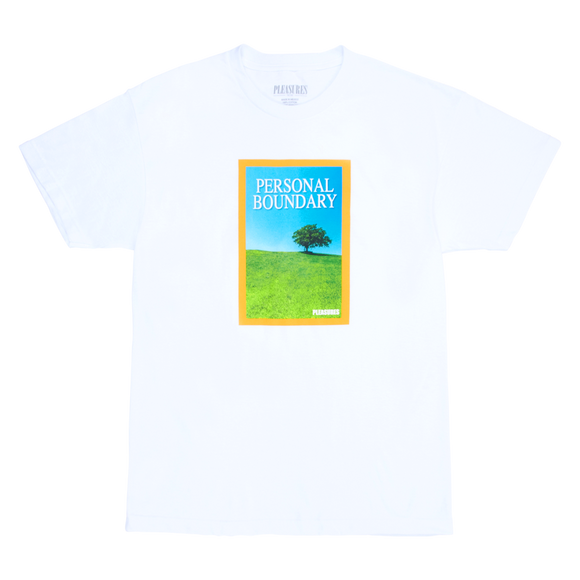 PLEASURES BOUNDARY T-SHIRT - deviceone