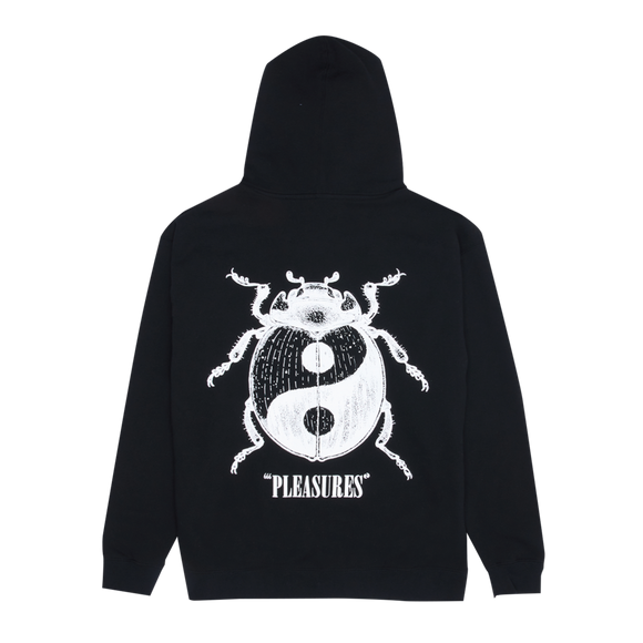 PLEASURES BUG ZIP UP HOODY - deviceone