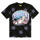 CHINATOWN MARKET RIDE THE WAVE GLITCH T-SHIRT - deviceone