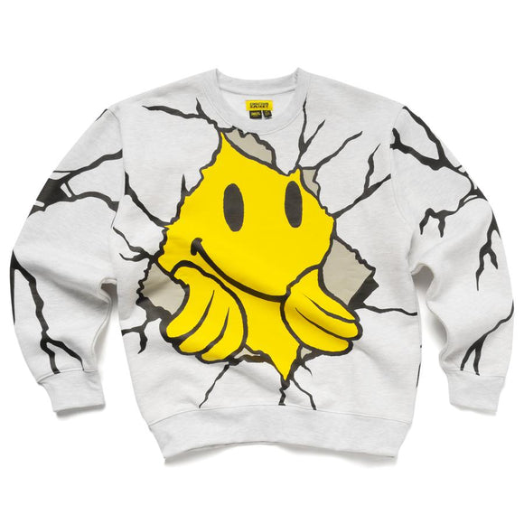 CHINATOWN MARKET DRY WALL BREAKER CREWNECK - deviceone