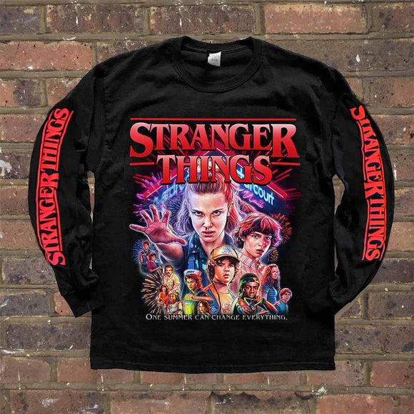 HOMAGE STRANGER THINGS LONGSLEEVE TEE