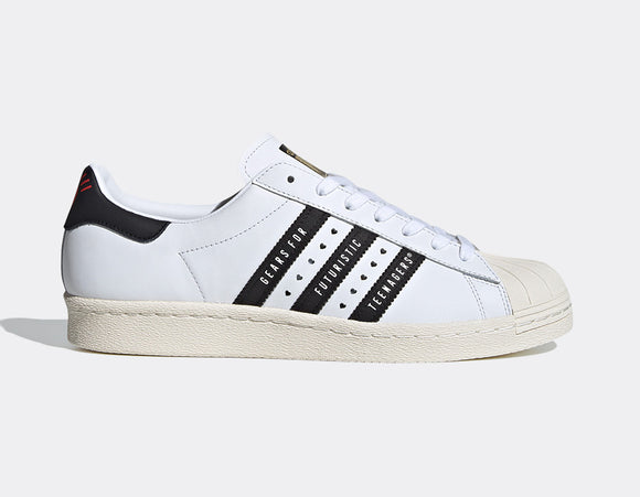 ADIDAS SUPERSTAR 80s HUMAN MADE WHITE - deviceone