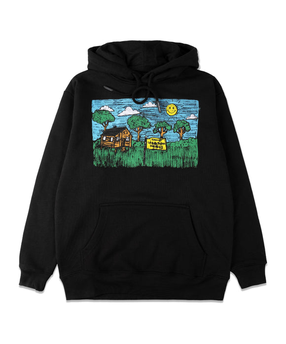 CHINATOWN MARKET KID DRAWING HOODIE - deviceone