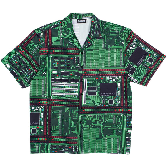 PLEASURES MOTHERBOARD SHIRT - deviceone