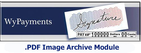 Image of Wycom WyPayments .PDF Archive Module