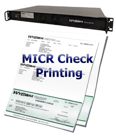 Image of Wycom Enterprise Laser Check Printing System