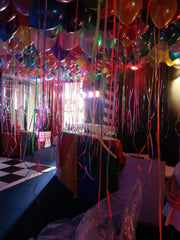 Multi Coloured Pearl (Latex) Ceiling Balloons
