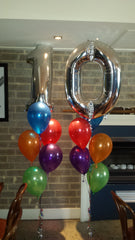 10th Birthday Balloons / 10th Anniversary