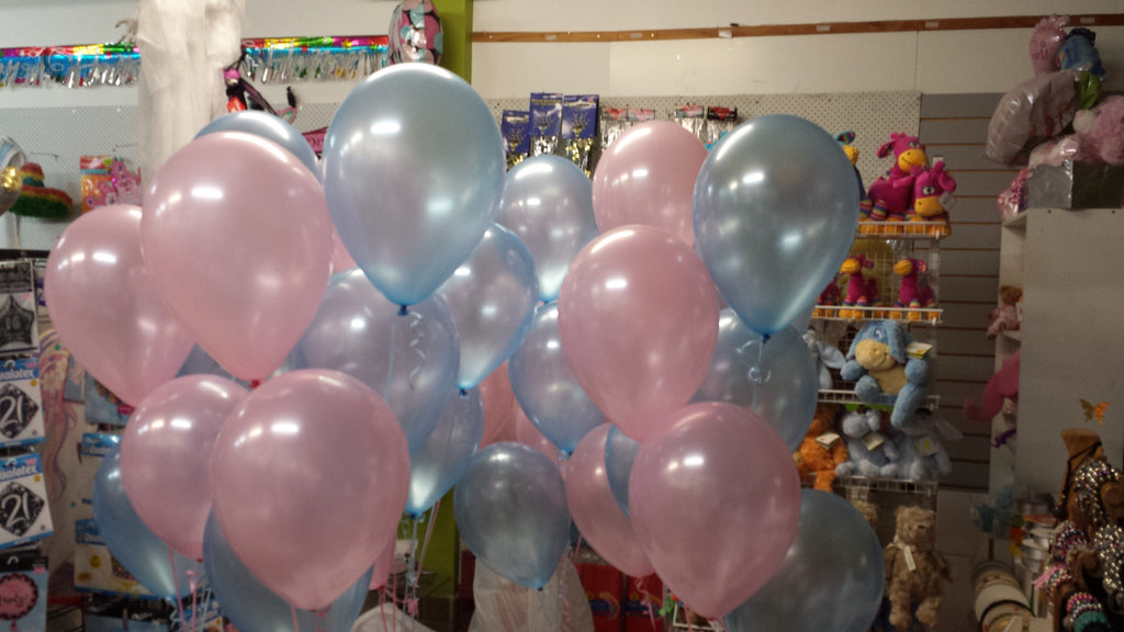 Baby Shower Twins Balloons Balloons Plus Basket