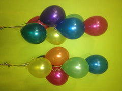 Floor-Standing Bouquet - Multicoloured bunch of 7