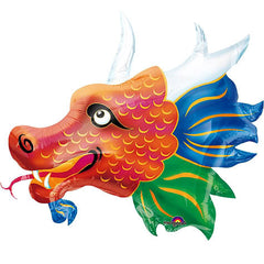 "Chinatown Dragon SuperShape - 33"" Foil Balloon"