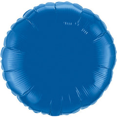 "Decorator Foil - 18"" Dark Blue Round"