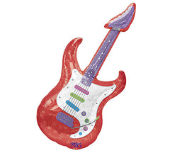 "Guitar SuperShape - 41"" Foil Balloon"