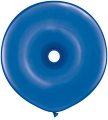 "16"" Latex Balloons: Donut - Sapphire Blue"