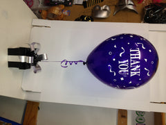 Thank You Latex Balloon on BPB Signature Chocolate Box