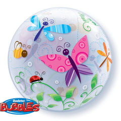 "Garden Insects - 22"" Bubble Balloon"