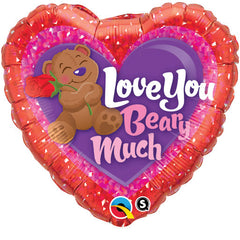 "Love You Beary Much - 18"" Foils"