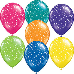 "11"" Latex Balloons - Stars-A-Round"