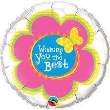 "Wishing You The Best Butterfly - 18"" Foils"