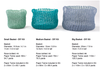 DIY Kit: Knit Baskets Small
