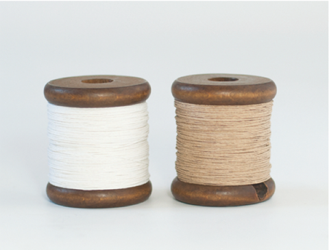 Medium Paper Twine on a Wooden Bobbin