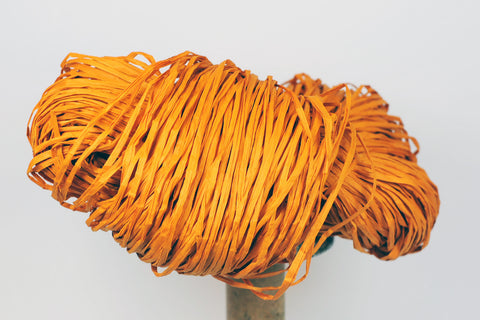 PaperPhine: Paper Raffia - Raffia - Orange - DIY, Knit, Crochet, Basketry
