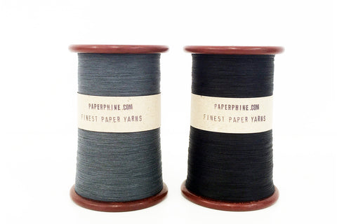 PaperPhine: Finest Paper Yarn - Gray and Black