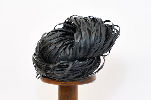 NEW Paper Raffia - Manila hemp: Black