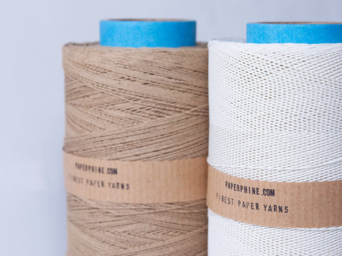 Large Bobbin: Medium Paper Twine Natural - Kraft