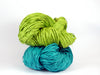PaperPhine: Paper Raffia in Teal and Fresh Green