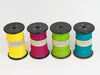PaperPhine: Old Bobbin with Colored Paper Twines