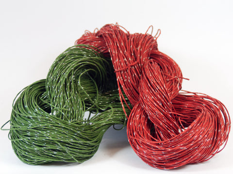 PaperPhine: Wire Wrapped Bulky Paper Twine