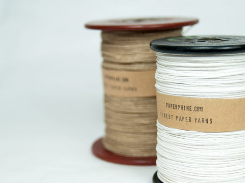 Strong Paper Twine on a Vintage Silk Bobbin