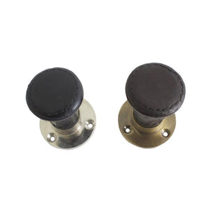 Buy Leather Knobs – 2 colors - FromNorge.Com