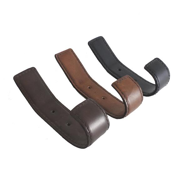 Leather Hooks, in 3 different colors