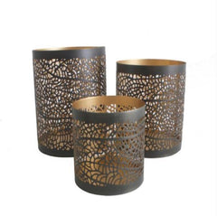 HB Candle Holders, set of 3 (in gift box)