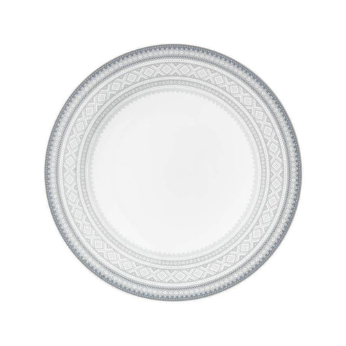 Flat dinner plate (22cm) GRAY Marius pattern, 4-pack - FromNorge.Com
