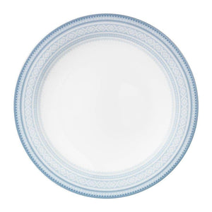 Buy Flat dinner plate (28cm) in BLUE Marius pattern, 4-pack - MARIUS - FromNorge.Com