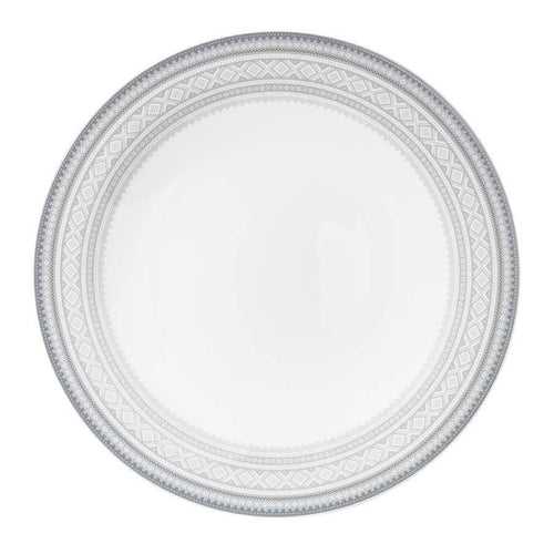 Buy Flat dinner plate (28cm) in gray Marius pattern 4-pack - MARIUS - FromNorge.Com
