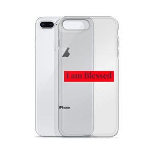 I am blessed iPhone Case